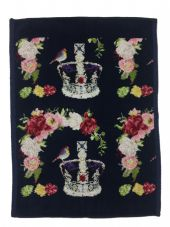 Feiler 'Royal Crown' Guest Towel - Navy